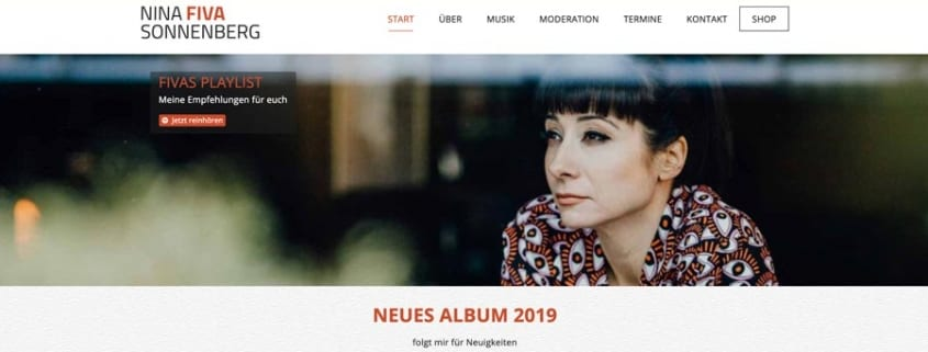 neue fiva website